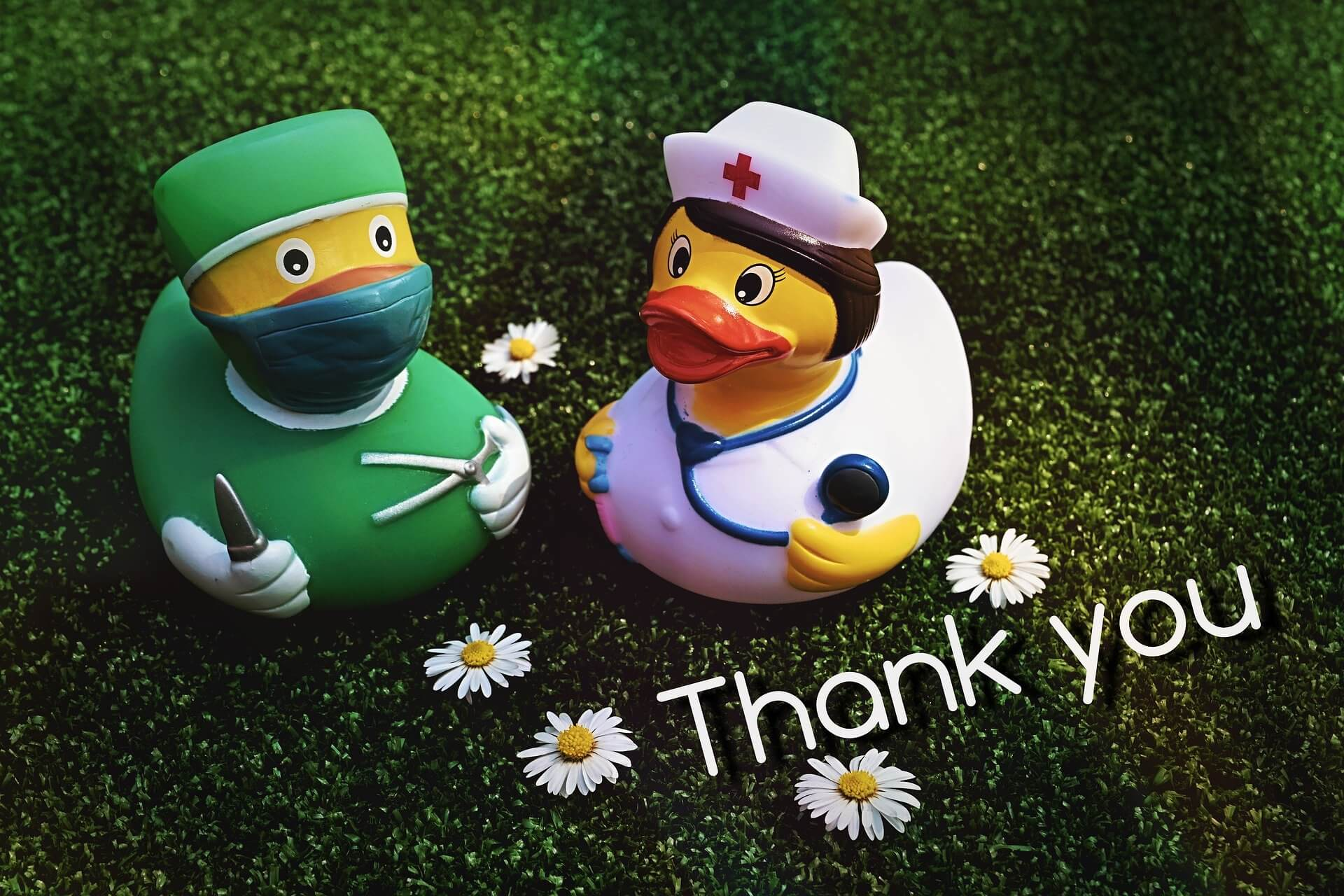 Thank you healthcare workers all over the world!